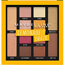 Maybelline Lemonade Craze Eyeshadow Palette Makeup, 12 Shade Eyeshadow Palette, Lemonade Craze, 0.26 fl. oz.