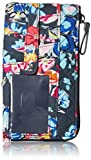 Vera Bradley Iconic RFID Ultimate Card Case, Signature Cotton, pretty Posies