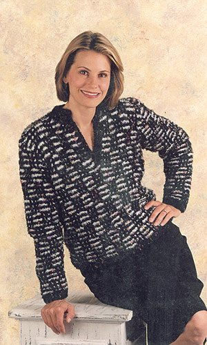Blossom 2 Color Slip St Pullover Craft ()