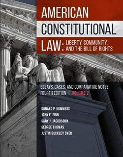 Amazon com: Constitutional Law Textbook: Rights & Liberties (Aspen