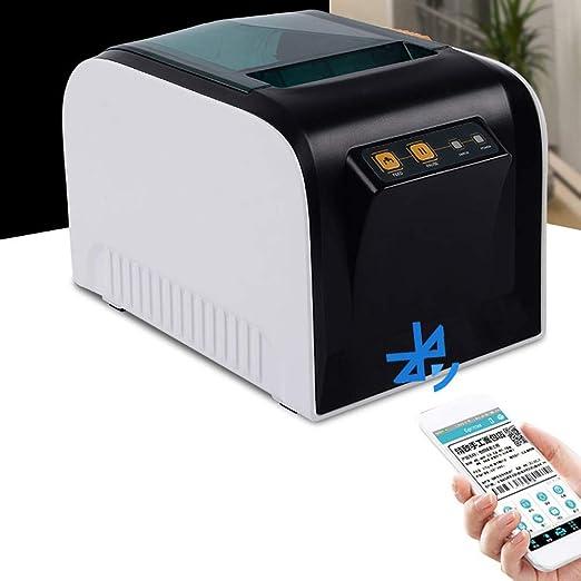 QWERTOUY Impresora de código de Barras Impresora térmica de ...