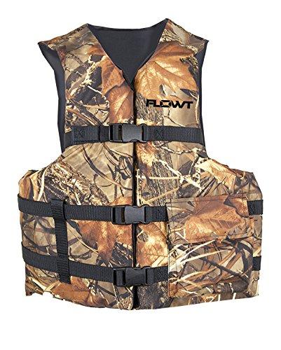 Omega Type lll Angler Fishing Life Vest, Oversized Adult, -