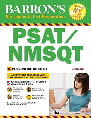 Barron's PSAT/NMSQT with Online Tests (Barron's Test Prep)