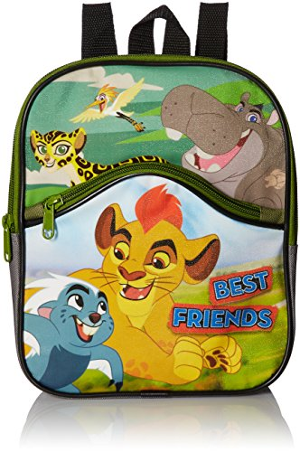 Price comparison product image Disney Boys' Lion Guard 10 Mini Backpack with Front Pocket, Green