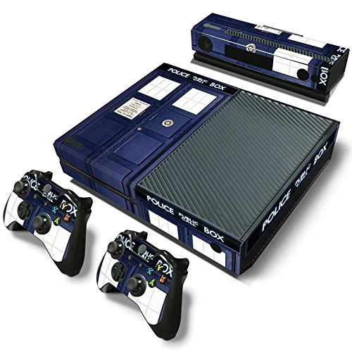 GoldenDeal Xbox One Console and Controller Skin Set - Police Booth Dr - Xbox One Vinyl