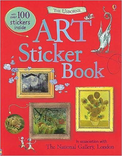 The Usborne Art Sticker Book [With Sticker(s)]
