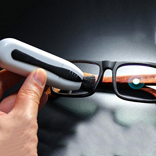 Eyeglasses Cleaner Professional Sunglass Eyewear Cleaning Brushes Maintenance Vision Care Glasses Cleaning Tool