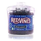 Red Vines Black Licorice Twists (4-Pound Jar)