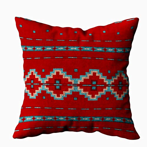 (Capsceoll Southwest mesas red Outdoor Decorative Throw Pillow Case 20X20Inch,Home Decoration Pillowcase Zippered Pillow Covers Cushion Cover with Words for Book Lover Worm Sofa Couch)