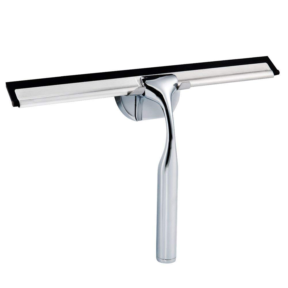 Dailyart Stainless Steel Squeegee Shower Window Squeegee for Bathroom Mirror Wiper,Window Glass Cleaning
