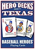 Texas Rangers Hero Deck Poker Size Playing Cards