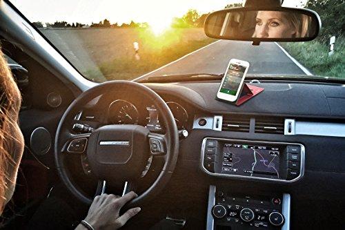 Funda para Huawei Mate 11 en Cuero Negro - Innovadora Funda 4 en 1-Anti-Gravedad para Montaje en Pared, Soporte de Tableta en Vehículos, Soporte de Tableta - Protector Anti-Golpes para Coches y Parede Cuero Marrón Vintage