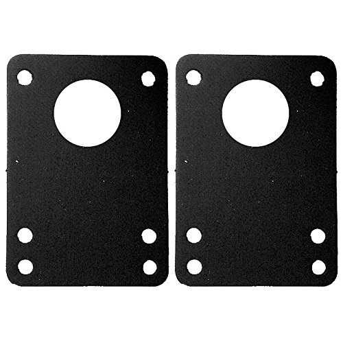 Dooks Riser Pads (Dooks Silencer Black Anti Vibration Gasket -1 Pair)