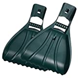 Leaf Scoops ORIENTOOLS Large Leaf RakesRake Hands /Grabbers/Claws Rakes Gorilla Garden Hands Leaf Rake Grabber , Garden and Yard Hand Rakes, Grass Clippings, Lawn Grass Removal,Green (1 Pair)