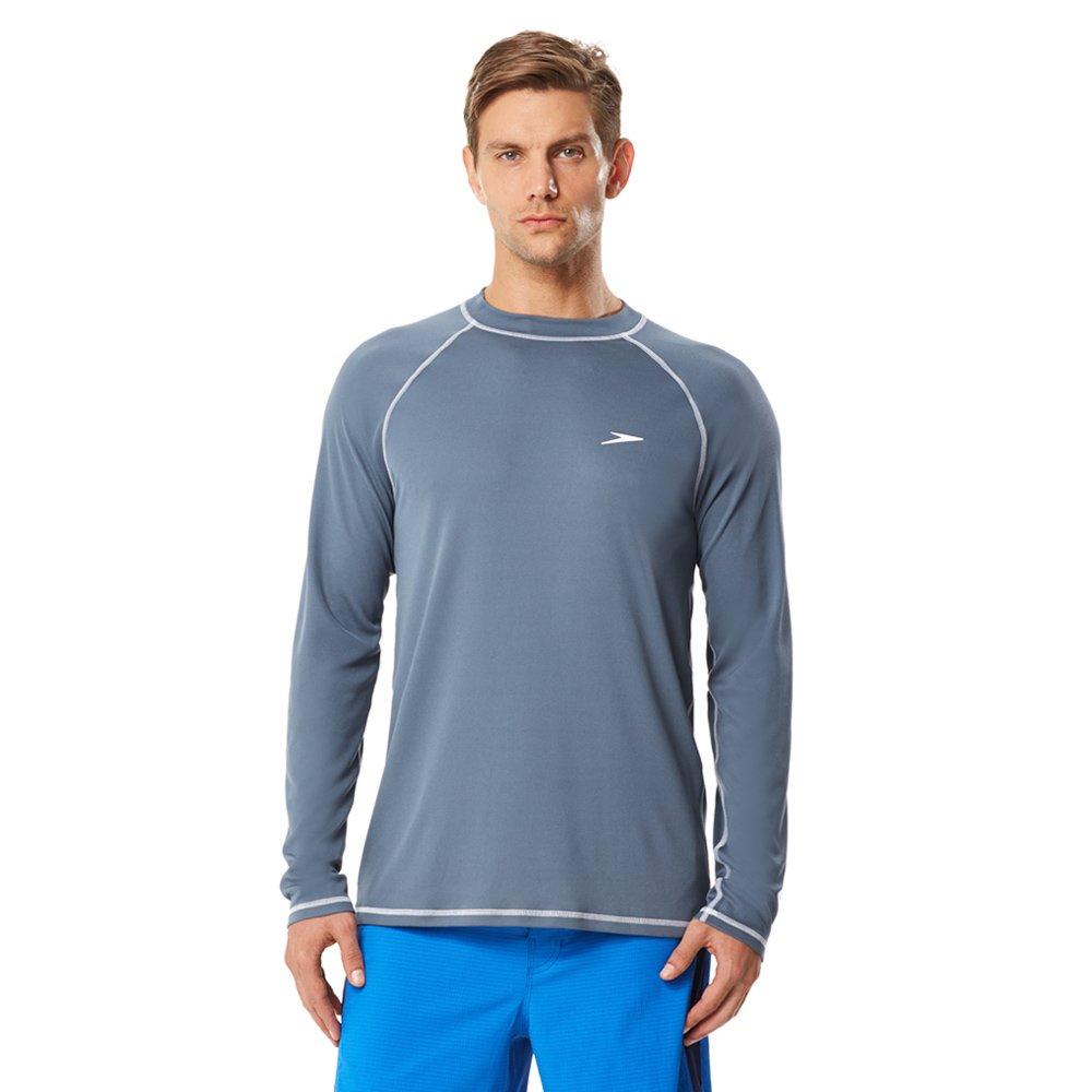 Speedo Men's UPF 50+ Easy Long Sleeve Rashguard Swim Tee 7482183