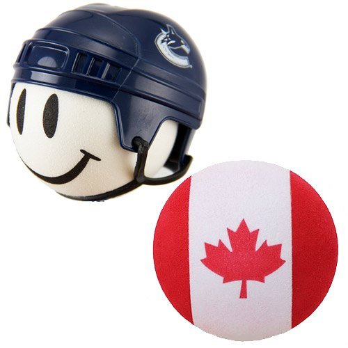 NHL Hockey Vancouver Canucks Antenna Topper & Canadian Flag Antenna Topper … Tenna Tops