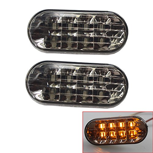 Heart Horse LED Side Marker Light For VW Volkswagen Golf Jetta Bora MK4/Passat B5 B5.5/Polo 9N 9N2 9N3