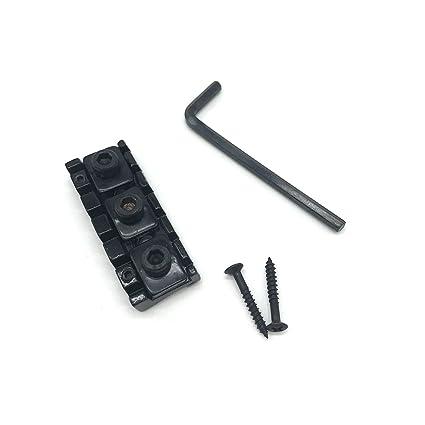 rosenice 42 mm Tuerca de bloqueo para puente Floyd Rose Tremolo Sistema Doble Bloqueo guitarra eléctrica