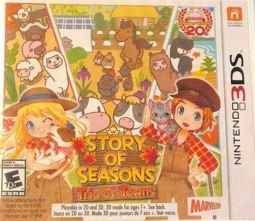 Factory Game Music - Story of Seasons: Trio of Towns - Nintendo 3DS