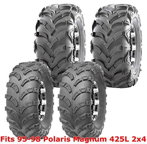 95-98 Polaris Magnum 425L 2x4 Full Set WANDA ATV tires 23x7-10 & 24x11-10 6PR