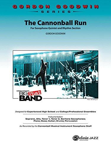 Alfred The Cannonball Run Jazz Band Grade 5 Set