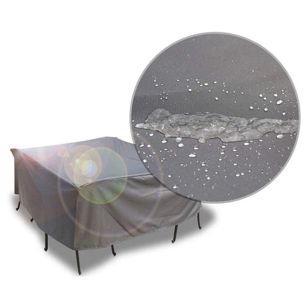 Chihen 屋外の家具は長方形の屋外のテーブルおよび椅子のためのオックスフォードの生地の防水保護カバーを覆います (Size : 220x220x70cm) B07TCFHT5F  220x220x70cm