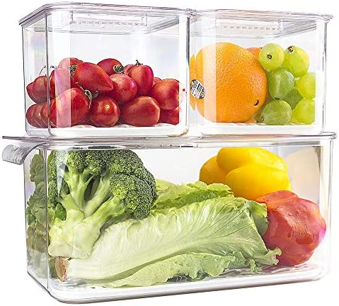 elabo Containers Stackable Refrigerator Vegetables product image