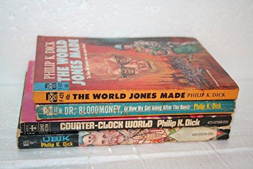 Philip K Dick 4-book Collection: The World Jones Made; Dr. Bloodmoney; Counter-Clock World; Ubik.