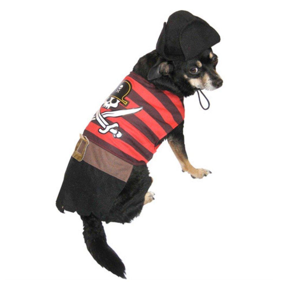 sc 1 st  Amazon.com & Amazon.com : Pirate Dog Costume Pet Outfit with Hat XXS : Pet Supplies