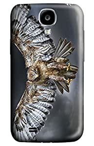 CaseandHome Wing Wide Eagle PC Material Hard Case For Samsung Galaxy S 4