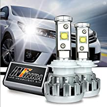 Infinra LED Headlight Bulbs 9005 CREE MK-R 60W 6000K Cool White 6,000LMS LED Headlight Conversion Kit w/ 2 Year Warranty - High Beam
