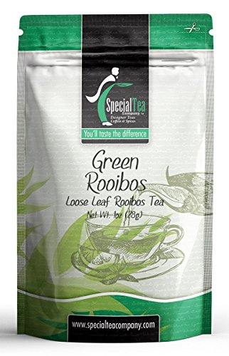 Special Tea Loose Tea Sample Pack, Green Rooibos, 1 Ounce Rooibos 1 Oz Loose Tea