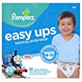 Pampers Boys Easy Ups Training Underwear by Procter & Gamble - Pampers that we recomend personally.