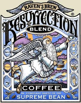Raven's Brew Coffee Resurrection Blend Whole Bean Coffee, 12 oz
