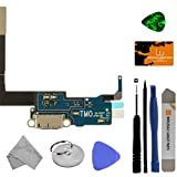 Charge Port (with Flex Cable) for Samsung SM-N900T Galaxy Note III (T-Mobile) with Tool Kit