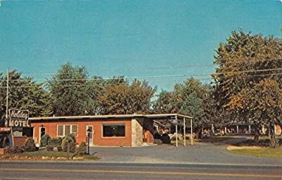 Henderson Kentucky Holiday Motel Street View Vintage Postcard K41727