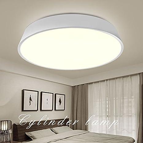 Simple moderno dormitorio lámpara lámpara techo lámpara ...