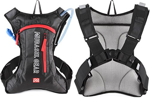 Hydration-pack-with-70-oz-2L-Bladder-for-Running-Hiking-Riding-Hiking-Camping-Cycling-Climbling-Biking-Lightweight-Backpack-for-Runner-Outdoor-Bicycle-Bike-Sports
