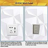 NeoHome Decorative 3D Wall Panels, PVC Acoustic