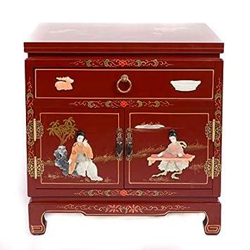 Fine Asianliving Table De Chevet Chinois Meubles Petite Table De