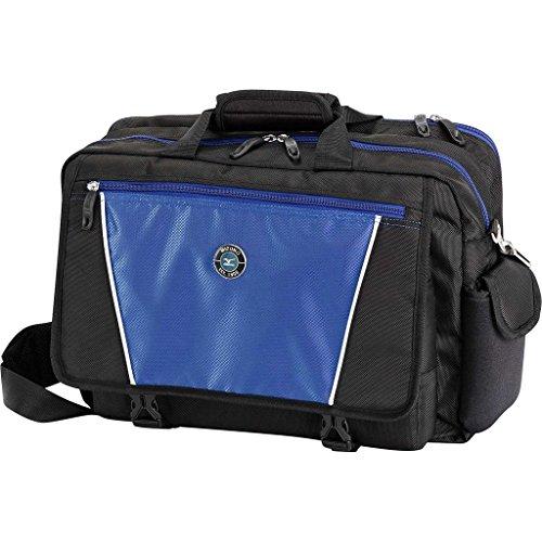 Mizuno Golf Briefcase Messenger Shoulder Laptop Satchel Bag - Black (Bags Travel Mizuno Golf)