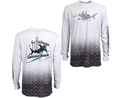 Guy Harvey Hammerhead Pro UVX Performance Long Sleeve Shirt