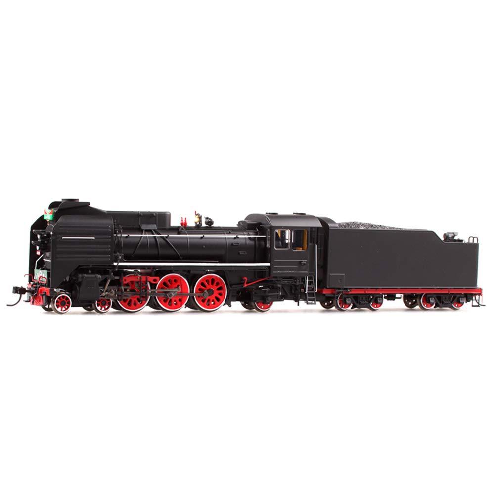 los últimos modelos Warmth Supplies Modelo del Tren de Vapor, Juguetes Juguetes Juguetes educativos de la Locomotora del Vapor del Pasajero de la Rueda del Metal de simulación  n ° 1 en línea