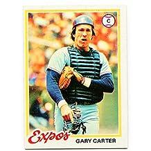 1978 Topps Gary Carter Card #120 Montreal Expos