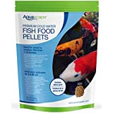 Aquascape Premium Cold Water Fish Food Pellets for Small to Medium Koi and Pond Fish, Medium Pellet, 2.2 Pounds | 98871