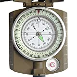 Ueasy Military Compass, Prismatic Sighting
