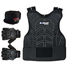 Zephyr Pro Padded Chest Protector Combo Package - Paintball, Airsoft, Etc.