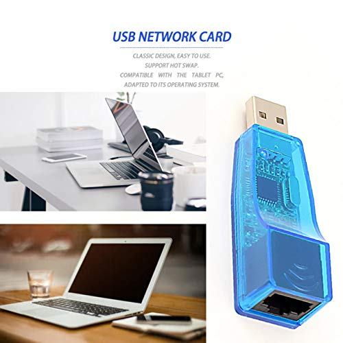 Laptop add-on Card,Ethernet External USB to LAN RJ45 Network Card Adapter 10/100Mbps for Tablet from Cumtur