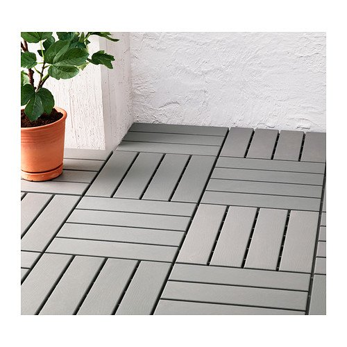 Ikea Outdoor Deck And Patio Interlocking Flooring Tiles (Gray)      Amazon.com
