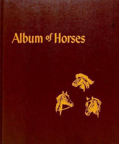 Album of Horses by Henry, Marguerite (1951) Hardcover - Horse Album